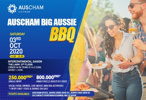 CO-HOST [AUSCHAM] AUSCHAM BIG AUSSIE BBQ