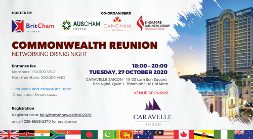 CO-ORGANIZED EVENT - COMMONWEALTH REUNION NETWORKING EVENT